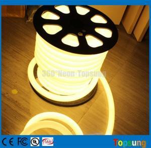 China 25meter spool 12V DC 360 degree round warm white led flex neon lights for letter on sale