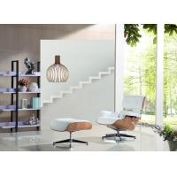 Buy cheap Genuine Leather Eames Hotel Lounge Chairs And Ottoman Contemporary Design Of Simplicity from wholesalers