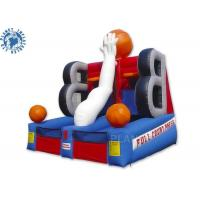 Buy cheap Full Court Press Basketball Inflatable Sports Games For Party Rental from wholesalers