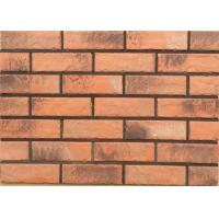 Buy cheap Solid exterior veneer brick wall wear resistance for house building design from Wholesalers