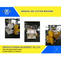 Buy cheap Semi-Automatic Carton Making Machine , Smooth Creasing Cutting Machine from wholesalers