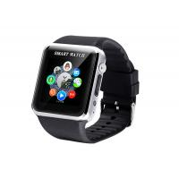 Buy cheap WRC GSM Pedometer Bluetooth Smart Watches Black Support Android from wholesalers