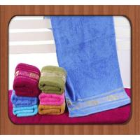 Buy cheap hot sale custom good quality jacquard pure bamboo fiber face towel wholesale baby towel from wholesalers