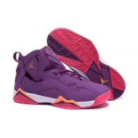 China Purple Color Air jordan VII AJ7 woman basketball Sports Shoes, size 36-40 with box on sale