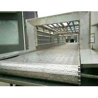 Buy cheap Chain Driven Link Steel Plate Conveyor , Metal High Temperature Conveyor Belt from wholesalers