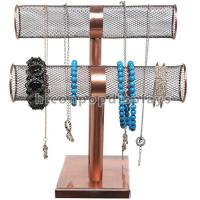 Buy cheap Bronze Color Retail Accessories Display Countertop Jewelry Display Stand For Bracelet from wholesalers