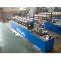 Buy cheap Galvanized Sheet Door Shutter Roll Forming Machine 7-12m / Min Working Speed from wholesalers