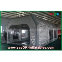 Buy cheap Prefessional Gray Waterproof PVC and Oxford Cloth Inflatable Paint Booth for Car Painting from wholesalers