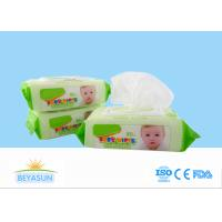 Buy cheap Natural Baby Disposable Wet Wipes Flushable For Hand / Mouth Cleaning from wholesalers