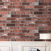 Buy cheap Eco-friendly waterproof cheap price brick/stone style PVC vinyl wall paper product