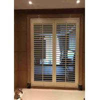 Buy cheap Indoor Pvc Window Plantation Shutters , Indoor Shutter Blinds L Frame Inside from wholesalers