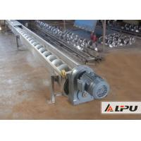 Mining Conveyor System / Mechanical Liquid Or Granular Materials Screw Conveyor