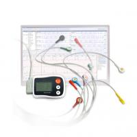 Buy cheap Mini Patch Portable Ecg Monitor One AAA Battery Power Supply Full Disclosure product