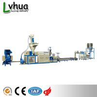 Buy cheap Blue Color PP Plastic Recycling Machine Automatic Loading For Dry Clean Film from wholesalers