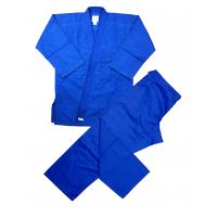 Buy cheap Blue karate kimono Judo Uniform , cotton twill / canvas judo suits from wholesalers