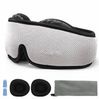 Buy cheap 3D Breathable Contoured Sleep Mask / Nighttime Eye Mask Custom Logo Printed from wholesalers