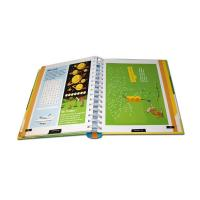 Buy cheap Unique Hardcover Book Printing / Coil Bound Book Printing Offset Printing from wholesalers