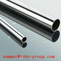 Buy cheap Seamless Stainless Steel Tube price per ton/ 304 Polished Stainless steel pipe/tube from wholesalers