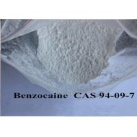 Buy cheap Pain Killer Local Anaesthesia Drugs , Pure Benzocaine Powder Cas 94 09 7 99% Assay product