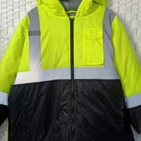 Buy cheap Windproof Plus Size Reflective Apparel High Visibility For Outdoor Workers product