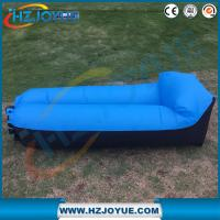 Buy cheap New design!!!Fast Inflatable Air Bag Sofa Outdoor plastic folding sun inflatable air lounger with pillow from wholesalers
