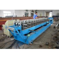 Buy cheap Roller Material GCr15 Door Frame Roll Forming Machine with Hydraulic Cutting from wholesalers