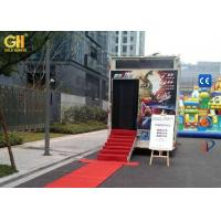 Buy cheap Truck Mobile 7D Cinema Ride Film Watching Theater 220V / 380V 10 KW product