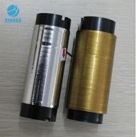 Buy cheap Golden Silver Line Cigarette Tear Tape Strip , Single-sided Self Adhesive Tape product