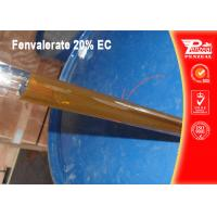 Buy cheap Non Systemic Insecticide For Fruit Trees Fenvalerate 20% EC CAS NO 51630-58-1 from wholesalers