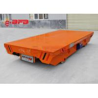 Buy cheap Warehouse Track Self Loading Motorized Transfer Trolley from wholesalers