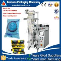 Buy cheap Automatic water pouch packaging machine , juice/jam/ketchup packing machine from wholesalers