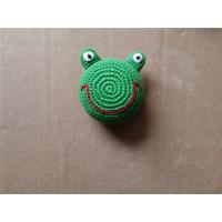 Buy cheap Knitted Kickball Crochet Toy Squeaky Froggy Dog Toy from wholesalers