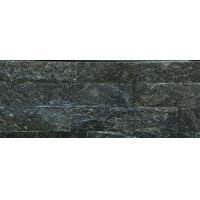 Buy cheap Black Quartzite Culture Stone Strip Stone Stacked Stone 60X15 35x18 40x10 from wholesalers