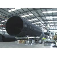 Buy cheap Underground HDPE Double Wall Corrugated Drainage Pipe With Large Diameter from wholesalers