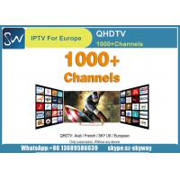China Best Selling IPTV 12 Months QHDTV with Arabic French and Some Europe IPTV channels on sale