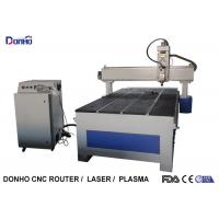 Buy cheap Blue PMI Square Rail CNC 3D Router Machine Wtih 1300 mm * 2500 mm Table from wholesalers