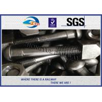 Buy cheap High Strength Black Oxide Railroad Track Bolt Fish Bolt For Rail Joints from wholesalers