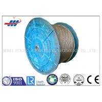 Buy cheap Uncoated Steel Crane Wire Rope 36x7+FC With 1570-1960MPA Strength from wholesalers