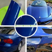 Buy cheap Glossy Car Wrapping Vinyl Films--Glossy Deep Blue from wholesalers