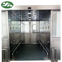 Buy cheap High Performance Cleanroom Air Shower Tunnel With Automatic Sliding Door from wholesalers