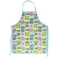Buy cheap 45*60 cm Cute Carton Printed 100% Cotton Bib Aprons Child Kitchen Aprons from wholesalers