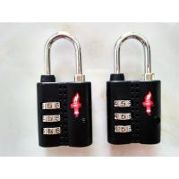 Buy cheap 28.1g TSA Safe skies black  lock & Approved TSA ABS lock&  colour Tsa  Lock& Tsa Number Lock from wholesalers