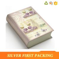 Buy cheap Silver First hot sale custom decorative magnet book shape box from wholesalers
