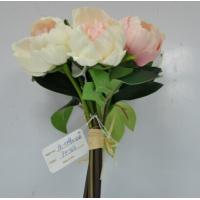 Buy cheap jReal touch artificial  flowers peony bouquet wedding decoration 7 piece/bouquet from wholesalers