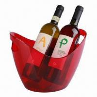 Buy cheap 3.5L Plastic Wine Cooler, Customized Colors and Logos are Accepted from wholesalers