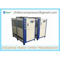 Buy cheap 10HP ,8TR Industrial Plastic Injection Moulding Water Chiller Air Cooled Chiller from wholesalers