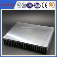 Buy cheap Industrial aluminum radiator profile /anodized aluminum extrusion heatsink for industry product