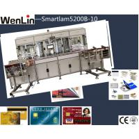 Buy cheap plastic PVC clear transparent business name card  plastic Card Laminating Machine labor saving from wholesalers