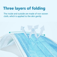 Buy cheap 30pcs 3 Ply Nonwoven Disposable Medical Face Mask from wholesalers