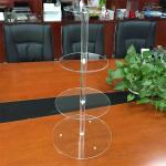 Buy cheap 4 tiers acrylic wedding cake display rack from wholesalers